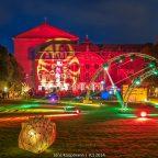 Illuminale in Trier – Lichterfeuerwerk im Palastgarten