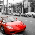 Am Rodeo Drive in Beverly Hills