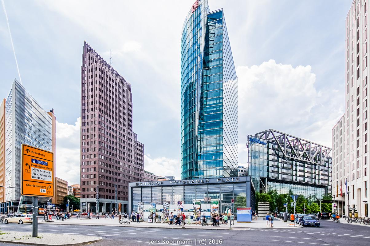 Utopia in Berlin | Stichwörter: Berlin, HDR, Potsdamer Platz, Skyline | Kategorien: Architektur, Berlin, Portfolio