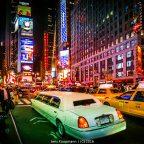 Wenn die Nacht erwacht am Times Square