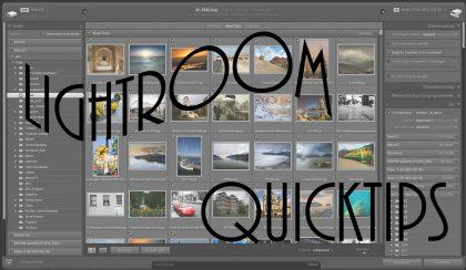 Lightroom-Quicktips – Folge 3: Beim Import bereits importierte Bilder ignorieren