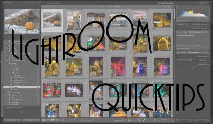 Lightroom-Quicktips – Folge 5: Aufnahmezeit anpassen