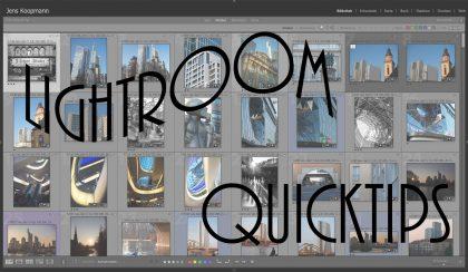 Lightroom-Quicktips – Folge 7: Schneller Bilder selektieren mit Auto-Forward (Automatisch weiterschalten)