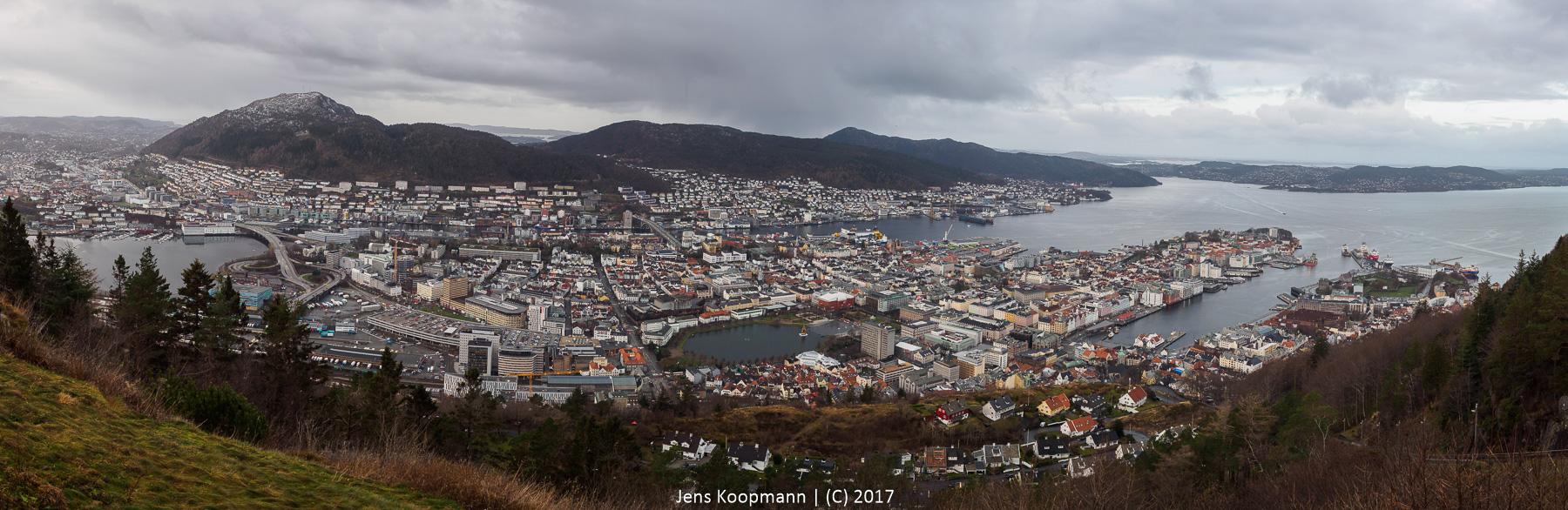 Mit der MS Lofoten auf die Hurtigrute – Teil 2: Ausflug zum Fløyen