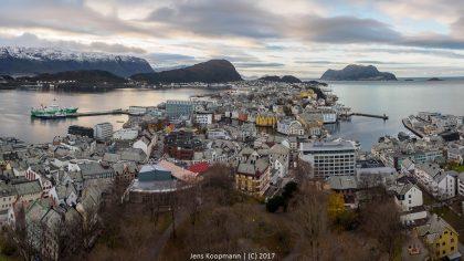 Mit der MS Lofoten auf die Hurtigrute - Teil 3: Auf dem Weg nach Ålesund