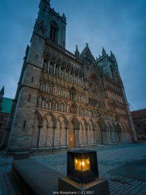 Mit der MS Lofoten auf die Hurtigrute - Teil 4: Der ewige König in Trondheim