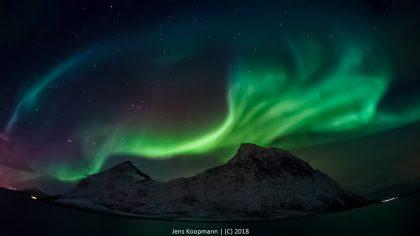 Nordlichter Fotografieren auf der Hurtigruten - Kreuzfahrt