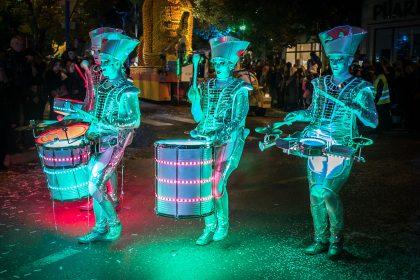 Zitronenfest Menton 2016 - Tag 1: Lichtermeer und Zitrusfrüchte in der Nacht