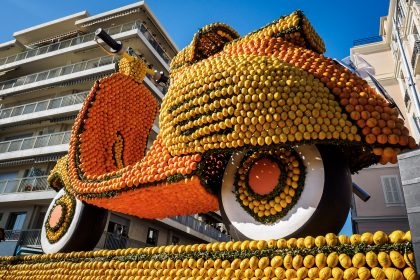 Zitronenfest Menton 2016 - Tag 4: Menton und die große Abschlussparade