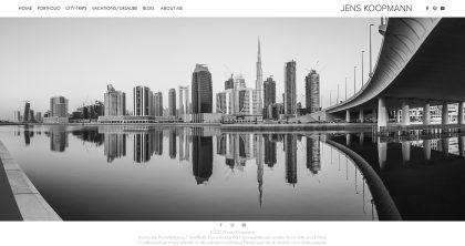 Meine neue Portfolio-Webseite
