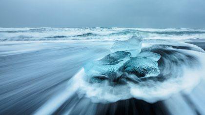 Island 2017 - Jökulsárlón Ice Beach