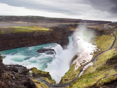 Island 2017 - Gullfoss