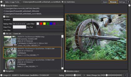 Ein Fototool entsteht – Photography Toolbox Fortschritte im August 2020