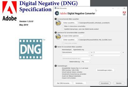 DNG vs. RAW - Warum das DNG-Format eine gute Idee, aber nicht per se gut ist