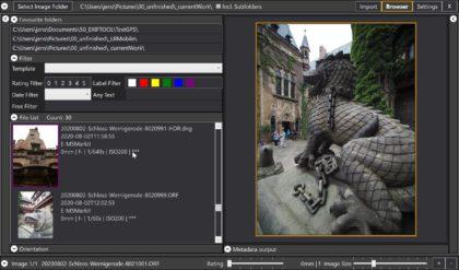 Ein Fototool entsteht – Photography Toolbox Fortschritte im September 2020