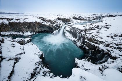 Island 2017 - Aldeyarfoss