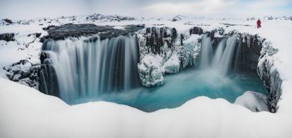 Island 2017 - Hrafnabjarga-Foss