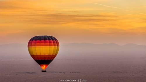 Dubai – Das New York Arabiens – Teil 7: Ballonfahrt in der Wüste