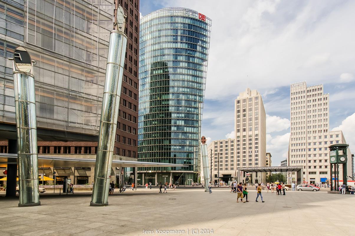 Architekturfotografie Lissabon Modern: Das Neue Berlin Am Potsdamer Platz